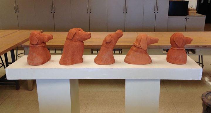Intro+to+Ceramics-Terracotta+pet+portraits