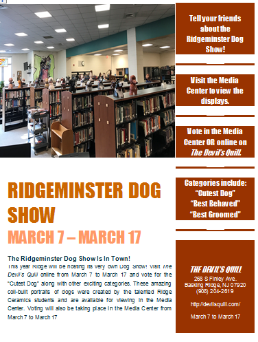 The Ridgeminster Dog Show Is In Town!